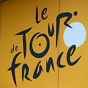 Logo illustration during the Tour de France 2018, Teams presentation on July 5, 2018 in La Roche-sur-Yon, France - Photo George Deswijzen / Pro Shots / ProSportsImages / DPPI