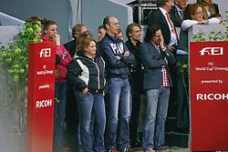 Ruiter Vanessa, Werner Nicole, Minderhoud Hans Peter, Peters Joost<br /> FEI World Cup Dressage Final - 's Hertogenbosch 2010<br /> © Dirk Caremans