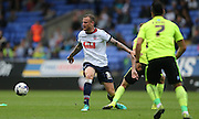 Bolton Wanderers defender David Wheater cuts inside during the Sky Bet Championship match between Bolton Wanderers and Brighton and Hove Albion at the Macron Stadium, Bolton, England on 26 September 2015.