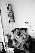 """Pradeep Jeganathan at his home in Havelock Town. Colombo.<br /> """"Pradeep Jeganathan was born and raised in Colombo, Sri Lanka, where he lives and works, engaged in a variety of intellectual, aesthetic and political projects."""" from www.pjeganthan.org"""