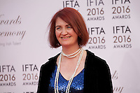 Writer  Emma Donoghue, at the IFTA Film & Drama Awards (The Irish Film & Television Academy) at the Mansion House in Dublin, Ireland, Saturday 9th April 2016. Photographer: Doreen Kennedy