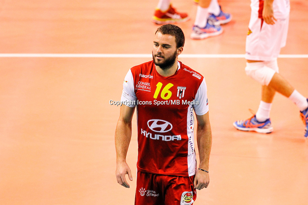 Emmanuel Ragondet  - 04.12.2014 - Cannes / Narbonne - 9eme journee de Ligue A  <br /> Photo : Nogier / Icon Sport