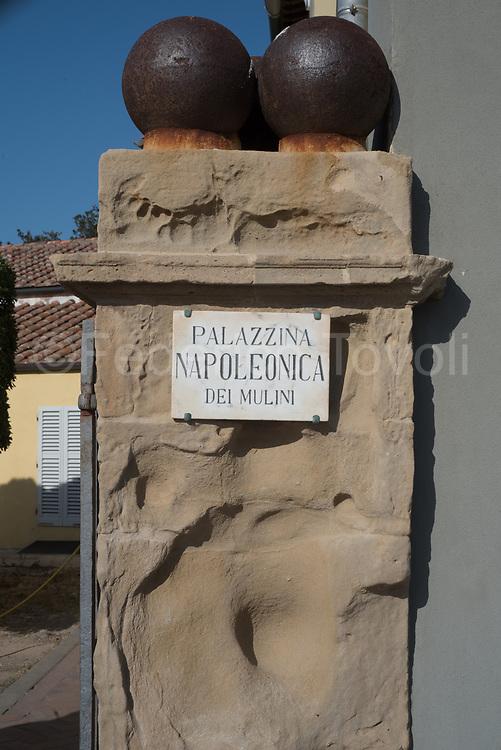 Entrance of Villa dei Mulini, Napoleon residence