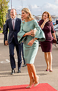 Naaldwijk, 03-10-2017<br /> <br /> <br /> Queen Maxima attend 2nd Koning Willem I lecture .<br /> <br /> <br /> <br /> Royalportraits Europe/Bernard Ruebsamen
