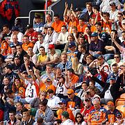 American Football, Amsterdam Admirals - Cologne Centurions, publiek, fans, tribune