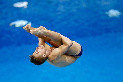 Jack Laugher of Great Britain in action during the Mens 1m Springboard Final - Photo mandatory by-line: Rogan Thomson/JMP - 07966 386802 - 19/08/2014 - SPORT - DIVING - Berlin, Germany - SSE im Europa-Sportpark - 32nd LEN European Swimming Championships 2014 - Day 7.