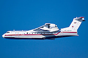 Russian Beriev-200 fire fighting plane