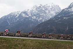 16.04.2013, Lavanterstrasse, Doelsach, AUT, Giro del Trentino, Teamzeitfahren, im Bild Team Netapp - Endura // during Team time Race, of the Giro del Trentino at the Lavanterstrasse, Doelsach, , Austria on 2013/04/16. EXPA Pictures © 2013, PhotoCredit: EXPA/ Johann Groder
