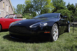 2018 Champagne British Car Festival held on Clover Lawn at David Davis Mansion in Bloomington IL<br /> <br /> Aston Martin