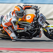 August 4, 2013 - Tooele, UT - Tyler O'Hara competes in Harley-Davidson XR1200 Race 1 at Miller Motorsports Park. O'Hara finished the race in second place.