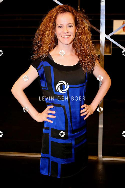 ZAANDAM - In het theater van Zaandam is de perspresentatie gehouden van Albert Verlinde's nieuwe musical 'FlashDance'. Met hier op de foto  Marjolein Teepen. FOTO LEVIN DEN BOER - PERSFOTO.NU