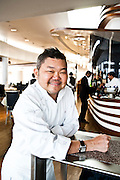 Justin Quek, chef of<br /> Sky on 57 atop the Marina Bay Sands