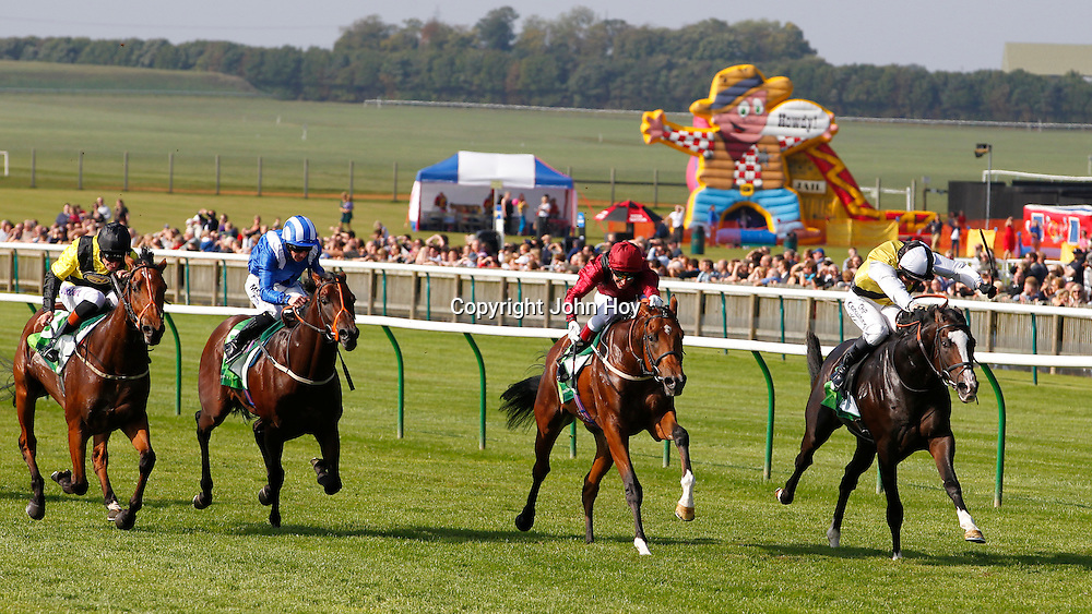 Berkshire and Jim Crowley winning the 2.00 race