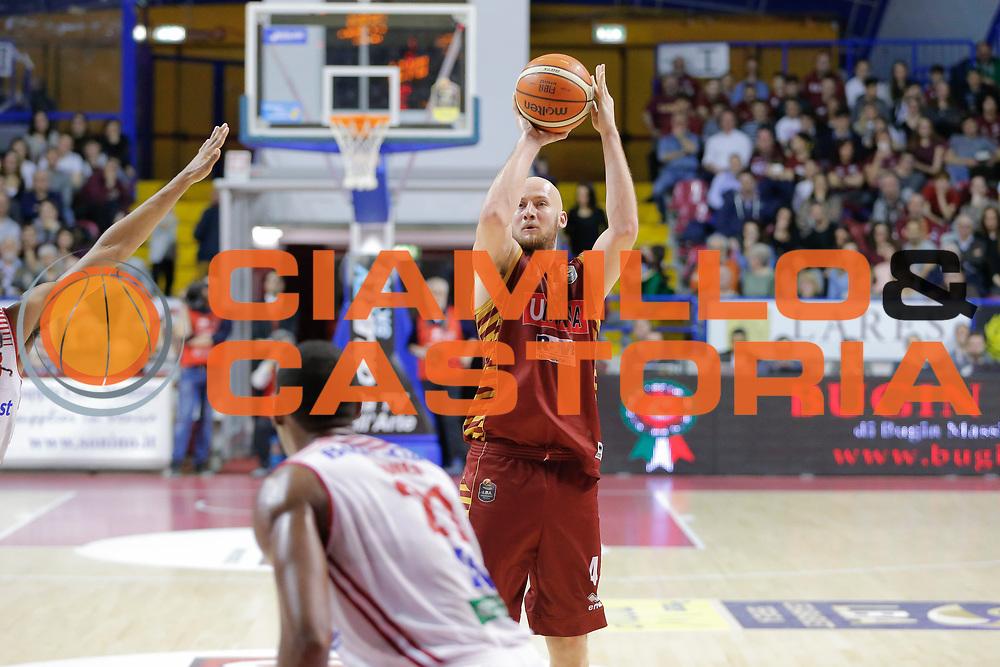 Hrvoje Peric<br /> Umana Reyer Venezia - Consultinvest Pesaro<br /> Lega Basket Serie A 2016/2017<br /> Venezia 05/03/2017<br /> Foto Ciamillo-Castoria