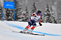 Downhill, HOGAN Connor, LW9-1, USA at the WPAS_2019 Alpine Skiing World Championships, Kranjska Gora, Slovenia