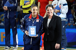 AKISHA GLASS BEST SETTER<br /> AWARDING CEREMONY<br /> VOLLEYBALL WOMEN'S WORLD CHAMPIONSHIP 2014<br /> MILAN 12-10-2014<br /> PHOTO BY FILIPPO RUBIN