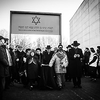 Funeral of unknown Holocaust Victims 20.01.2019