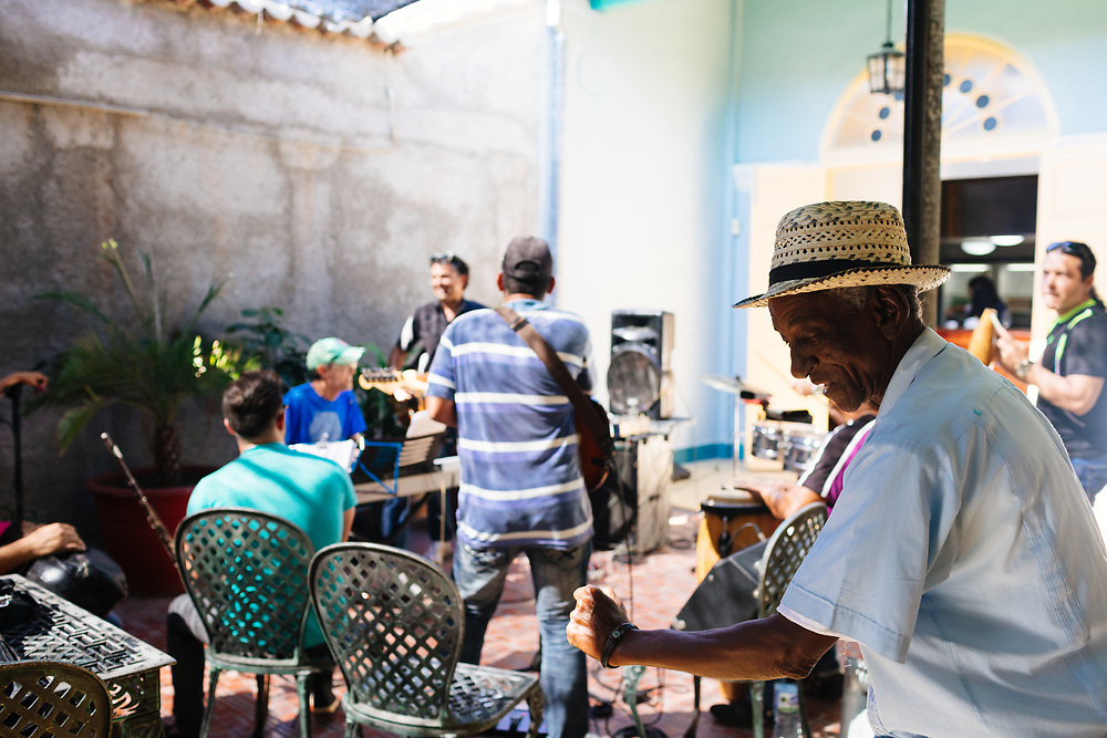 Afternoon party in Cienguegos, Cuba