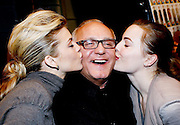 NEW YORK - FEBRUARY 16:  (L-R) Actress AnnaLynne McCord, Designer Max Azria and Melissa George pose for a photo backstage at  Max Azria Fall 2010 during Mercedes-Benz Fashion Week at Bryant Park on February 16, 2010 in New York City.  (Photo by Joe Kohen/WireImage) *** Local Caption *** AnnaLynne McCord; Max Azria; Melissa George