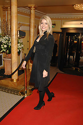 HOLLY WILLOUGHBY at the South Bank Show Awards held at The Dorchester, Park Lane, London on 29th January 2008.<br />