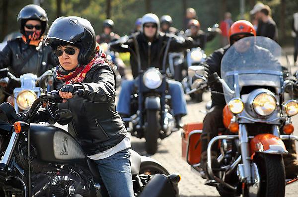 Nederland, Nijmegen, 26-9-2010Vandaag vond in Nijmegen de Harley dag plaats. Honderden Harkey Davidson motoren kwamen naar de Waalkade om daar een treffen te hebben.Foto: Flip Franssen/Hollandse Hoogte