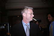 Stephen Daldry. Billy Elliot- The Musical opening night at the Victoria palace theatre and party afterwards at Pacha, London. 12 May 2005. ONE TIME USE ONLY - DO NOT ARCHIVE  © Copyright Photograph by Dafydd Jones 66 Stockwell Park Rd. London SW9 0DA Tel 020 7733 0108 www.dafjones.com