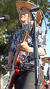 Mitzi Cowell leads her band in concert at Solar Rock in Himmel Park, Tucson, Arizona. Event photography by Martha Retallick.