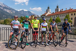 25.04.2018, Innsbruck, AUT, ÖRV Trainingslager, UCI Straßenrad WM 2018, im Bild Gregor Mühlberger (AUT), Patrick Konrad (AUT), Michael Gogl (AUT), Laura Stigger (AUT), Mario Gamper (AUT), Stefan Denifl (AUT) // during a Testdrive for the UCI Road World Championships in INNSBRUCK, Austria on 2018/04/25. EXPA Pictures © 2018, PhotoCredit: EXPA/ JFK