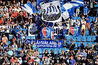 Fotball , 11 . august 2017 , Eliteserien , <br /> illustrasjon , publikum , fan fans, sandefjord<br /> <br /> Blåhvalane