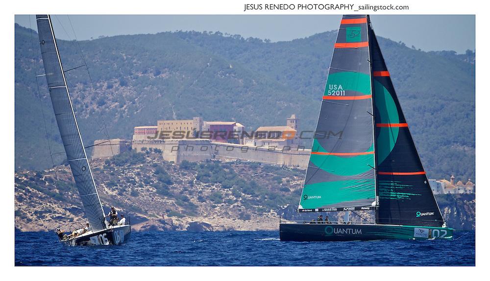 52 Superseries-ibiza 2013, practice race