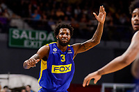 Maccabi Fox's Victor Rudd during Turkish Airlines Euroleague match between Real Madrid and Maccabi at Wizink Center in Madrid, Spain. January 13, 2017. (ALTERPHOTOS/BorjaB.Hojas)
