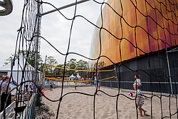 22-07-2018 NED: CEV DELA Beach Volleyball European Championship day 8<br /> Around stadium The Hague...promo, Join Volleyball, Smash