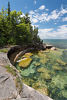 A sunny summer afternoon along the Lake Superior shore ~ Michigan's Upper Peninsula