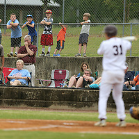 Houston fans watch as Kevin Diaz steps up to the plate against North Pontotoc in the second inning of game 2 of the class 3A quarterfinals Friday night.