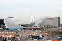OLYMPIC GAMES - LONDON 2012 VENUES - LONDON (GBR) - 23/11/2011 - PHOTO : GREGORY LENORMAND / DPPI - AQUATICS CENTRE