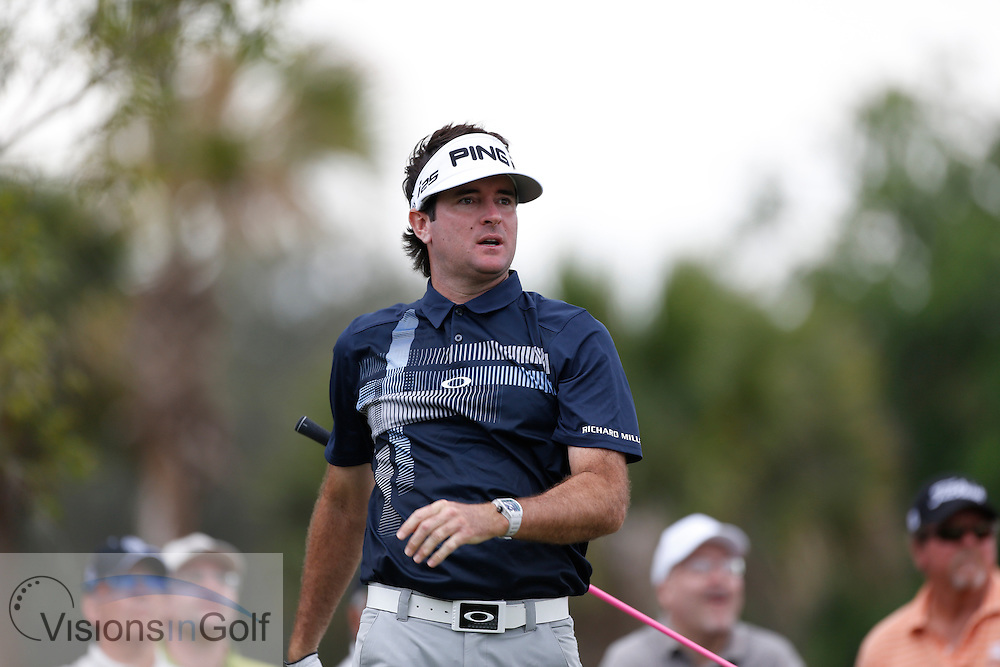 Bubba Watson<br /> at the WGC Cadillac 2014, Trump Doral, Blue Monster GC, Miami, Florida, USA<br /> Picture Credit:  Mark Newcombe / www.visionsingolf.com