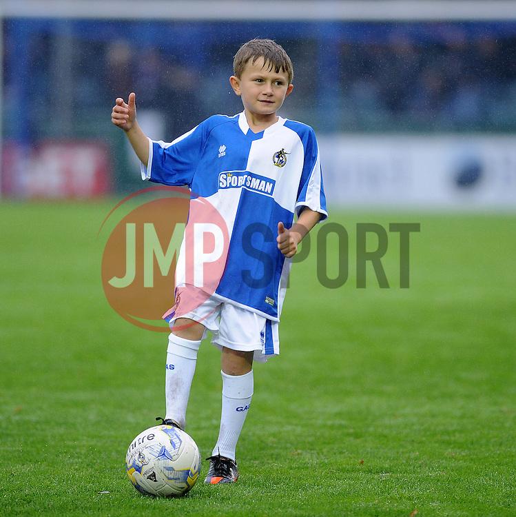 Mascot - Mandatory byline: Neil Brookman/JMP - 07966 386802 - 14/11/2015 - FOOTBALL - Memorial Stadium - Bristol, England - Bristol Rovers v Carlisle United - Sky Bet League Two