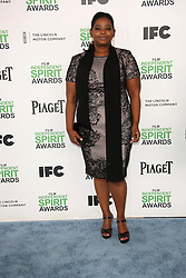 Octavia Spencer at the 2014 Film Independent Spirit Awards Arrivals, Santa Monica Beach, Santa Monica, United States, Saturday, 1st March 2014. Picture by Hollywood Bubbles / i-Images<br /> UK ONLY