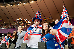 Spectators at the 2012 London Summer Paralympic Games