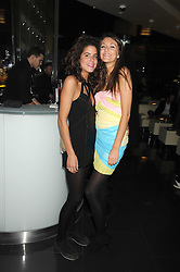 Left to right, DAISY FRASER and CLEMMIE CHANT-SEMPILL at Tallulah Rufus-Isaac's 21st birthday party held at The Kingley Club, 4 Upper St Martin's Lane, London on 24th September 2008.