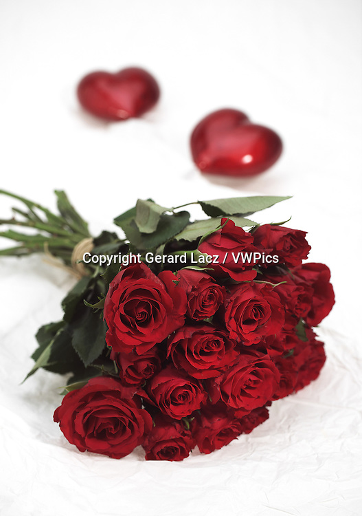 RED ROSES FOR SAINT VALENTINE'S DAY