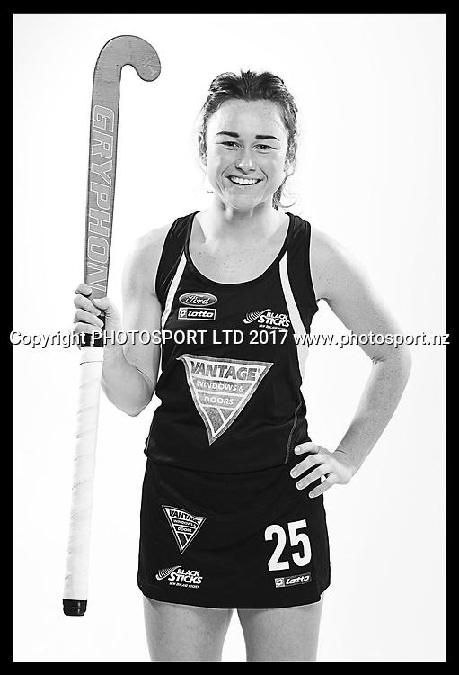 Kelsey Smith, New Zealand Black Sticks women, national hockey team photoshoot. Photosport Studio, Auckland. August 2017, Copyright Image: Andrew Cornaga / www.photosport.nz