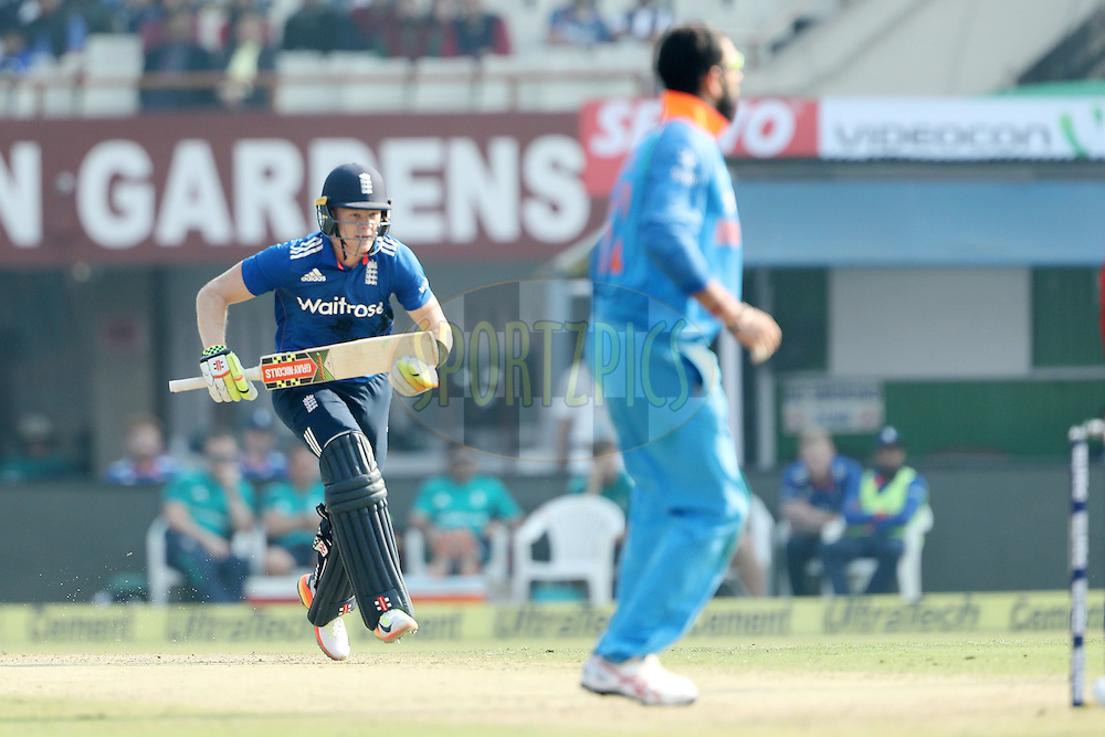 Sam Billings of England during the third One Day International (ODI) between India and England  held at Eden Gardens in Kolkata on the 22nd January 2017<br /> <br /> Photo by: Ron Gaunt/ BCCI/ SPORTZPICS