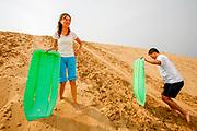 Chai Yuan, Hebei, CHN, 20070911:   The Flying Camel Desert.<br /> <br /> Photo: Orjan F. Ellingvag/ Dagens Naringsliv