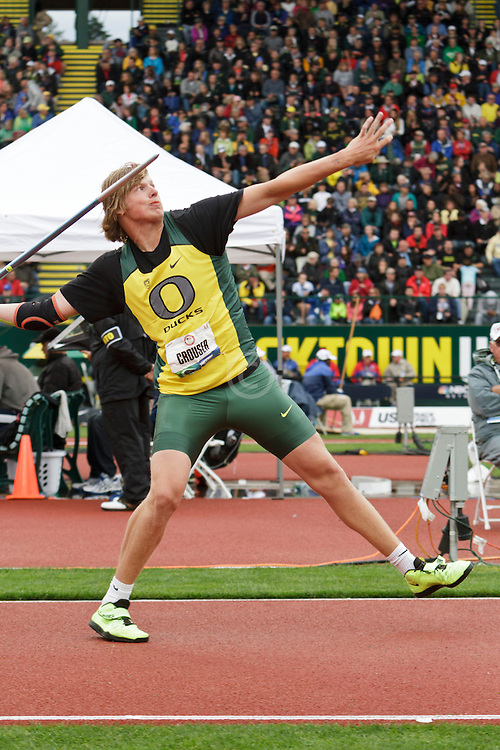 Men's Javelin, Sam Crouser