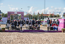 Team Great Britain, Team Denmark, Team Netherlands<br /> FEI European Para Dressage Championships - Goteborg 2017 <br /> © Hippo Foto - Dirk Caremans<br /> 22/08/2017,