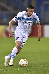 November 8, 2018 - Rome, Rome, Italy - Adam Marusic of Lazio during the UEFA Europa League Group Stage match between Lazio and Olympique de Marseille at Stadio Olimpico, Rome, Italy on 8 November 2018. (Credit Image: © Giuseppe Maffia/NurPhoto via ZUMA Press)