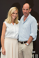 "Miguel Ferrer, Emily Wickersham ""NCIS"" attends photocall at the Monte Carlo Beach Hotel on June 10, 2014 in Monte-Carlo, Monaco."