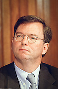 Eric Schmidt, CEO of Novell attends a press conference by the Business Software Alliance June 16, 1999 in Washington, DC.