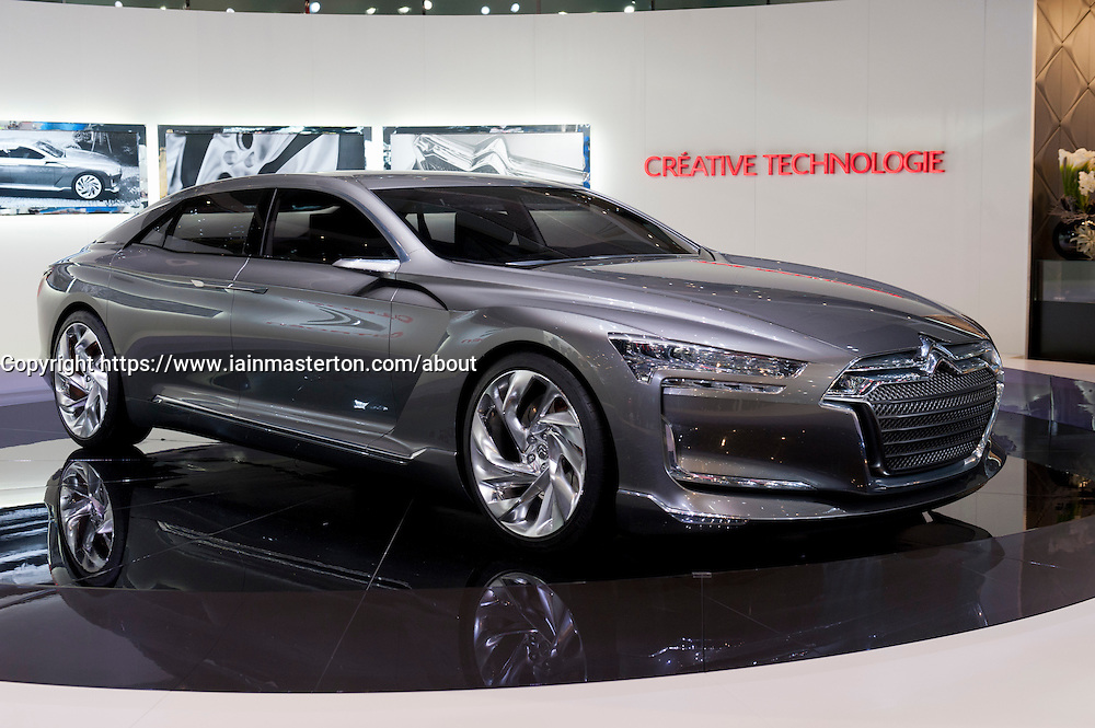 Citroen Metropolis at the Geneva Motor Show 2011 Switzerland